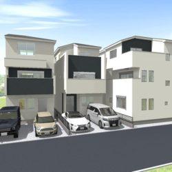 【非公開物件】 さいたま市緑区東浦和2丁目 新築一戸建て 全5棟